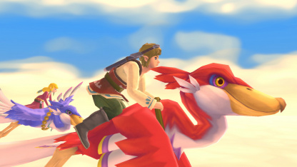 The Legend of Zelda: Skyward Sword HD стала лидером чарта розницы Великобритании