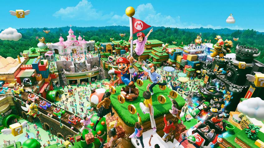 Из-за коронавируса открытие тематического парка Super Nintendo World было отложено
