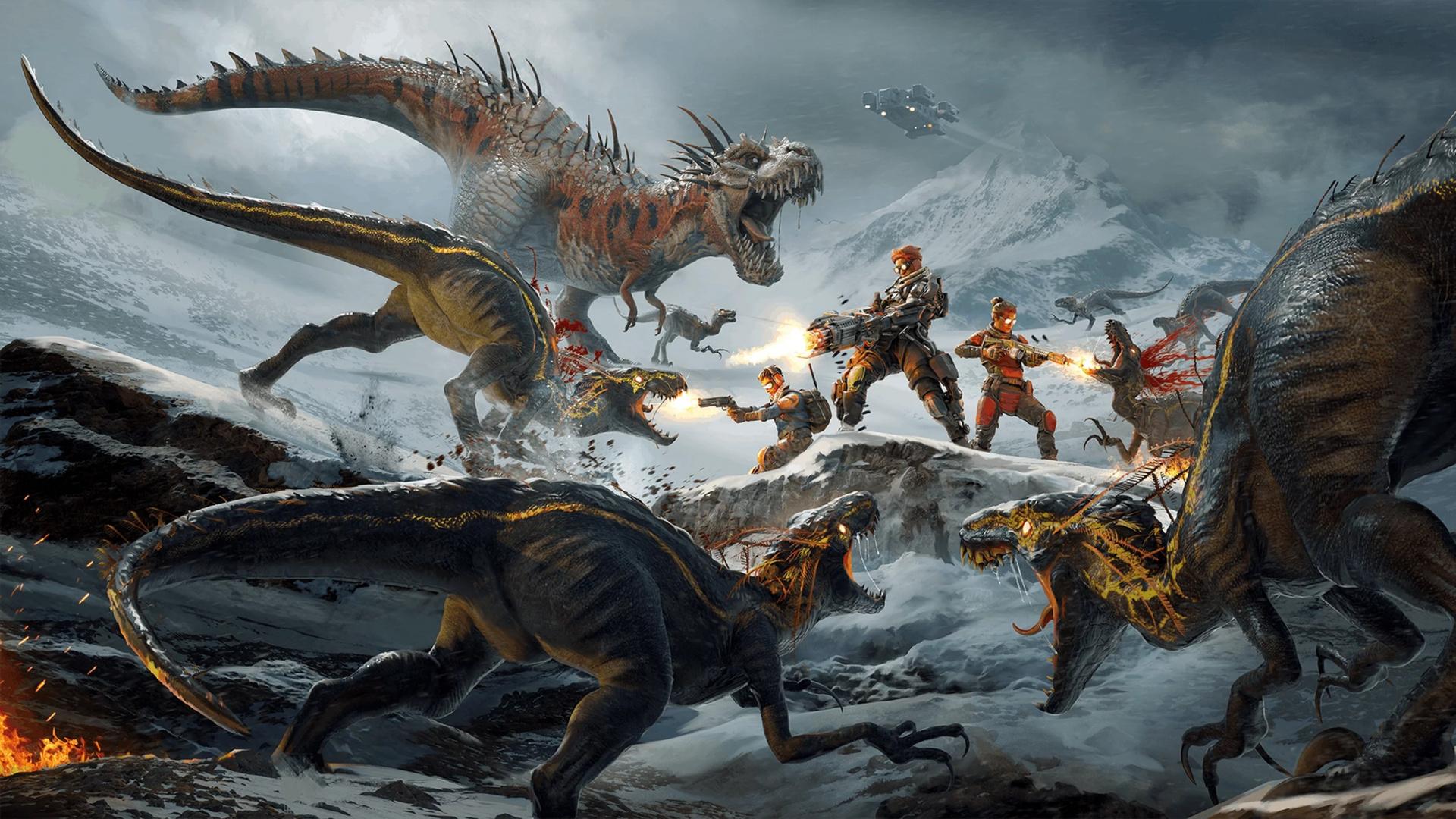 Отстрел динозавров в Second Extinction начнётся в раннем доступе в сентябре