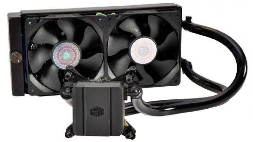Cooler Master выпустила СВО Glacer 240L