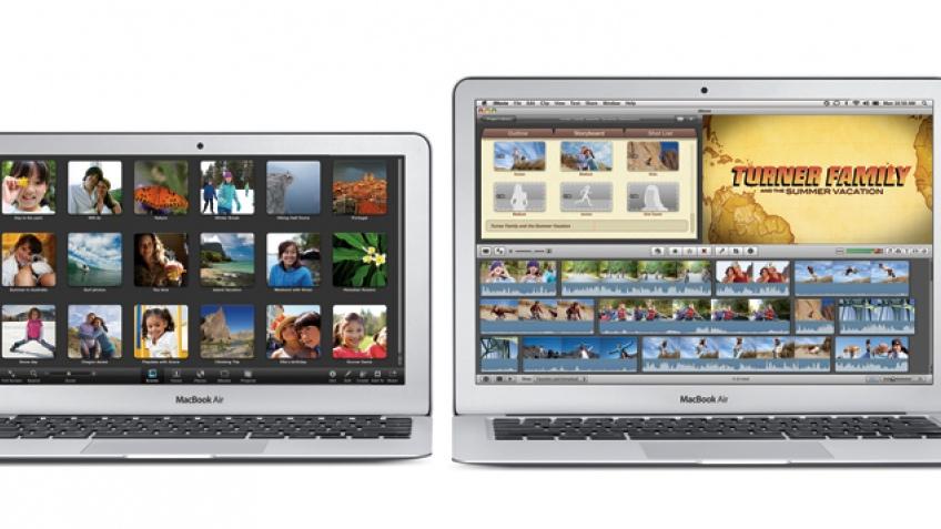 Apple представила новые модели MacBook Air