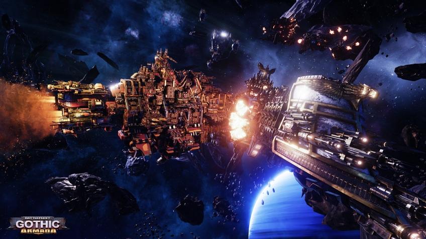 Настолка Battlefleet Gothic станет компьютерной игрой
