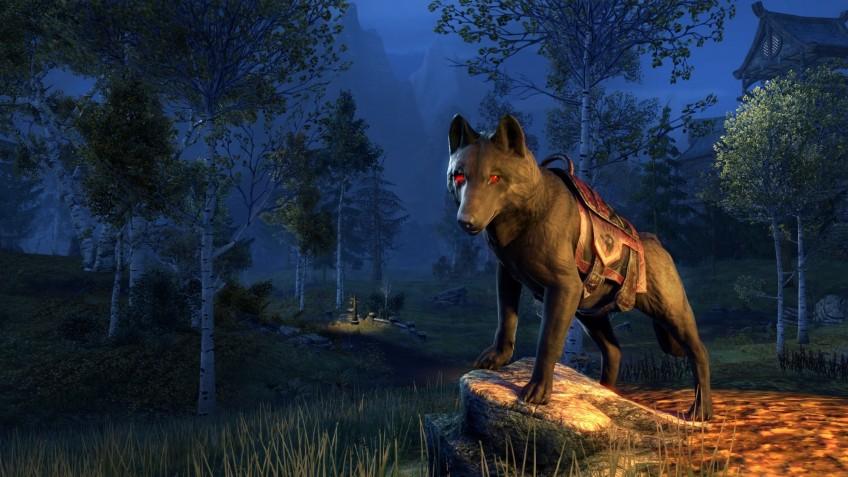 В The Elder Scrolls Online бесплатно отдают ездового волка