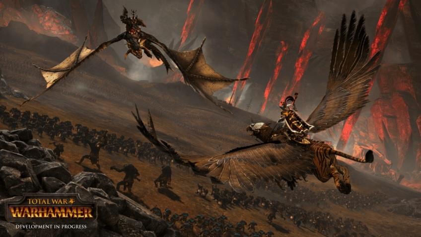 Масштабные битвы показали в новом ролике Total War: Warhammer