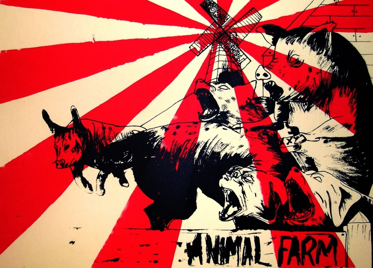 history does repeat itself in animal farm a novel by george orwell As a novelist, george orwell did not traffic in subtleties, but then neither did the authors of medieval morality plays the allegorical animal farm performs a similar, if secular, function, giving us unambiguous villainy and clear didactic intent orwell noted in his essay why i write that he.