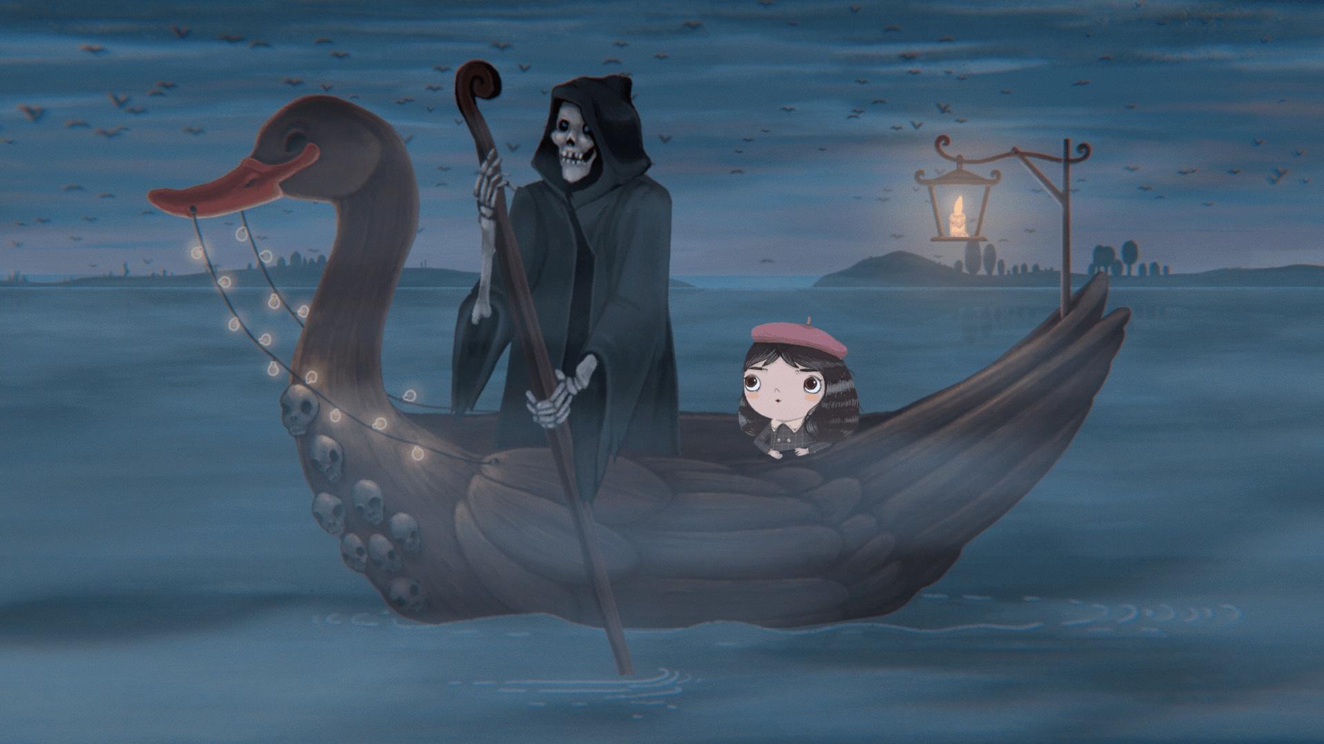 Девочка и Голос: приключение Little Misfortune выходит18 сентября