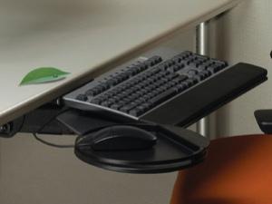 Подставка для клавиатуры из вторсырья