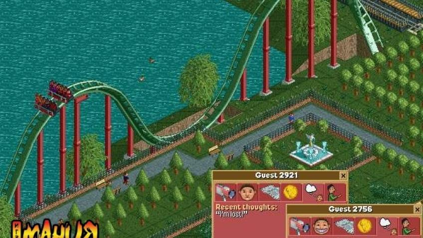RollerCoaster Tycoon опаздывает