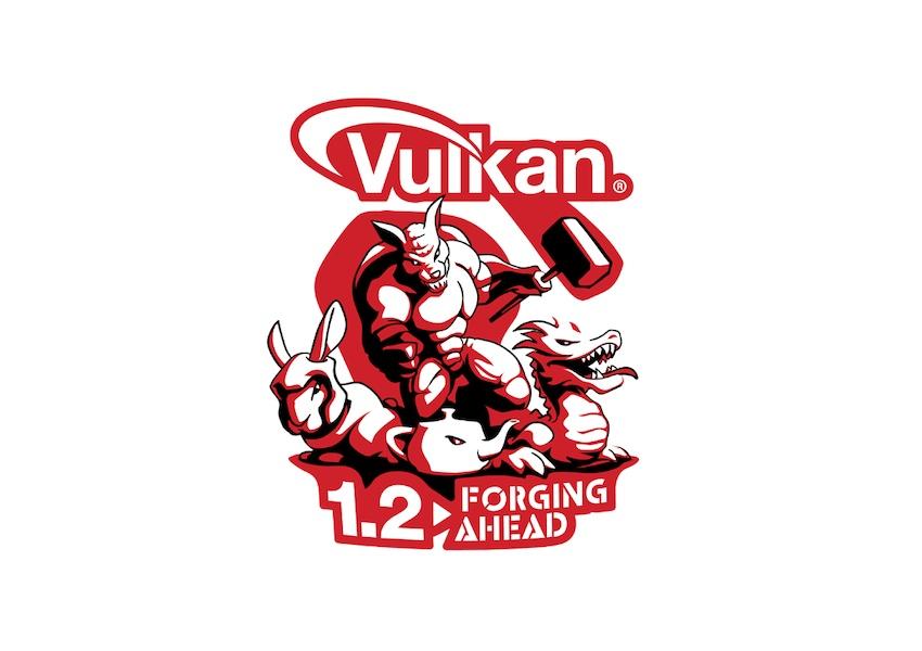 Выпущено обновление графического API Vulkan1.2