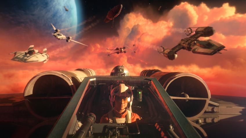 Новый геймплейный трейлер Star Wars: Squadrons посвятили одиночной кампании