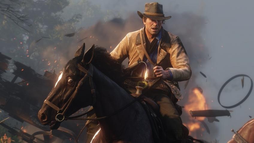 Запуск Red Dead Redemption2 стал вторым самым успешным в развлекательной индустрии