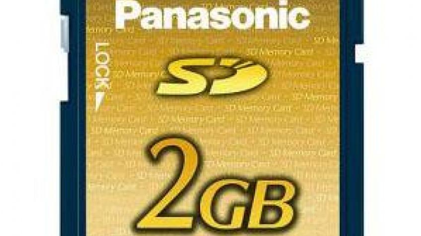 2-Гбайт флэш-карты SD скоро поступят в продажу