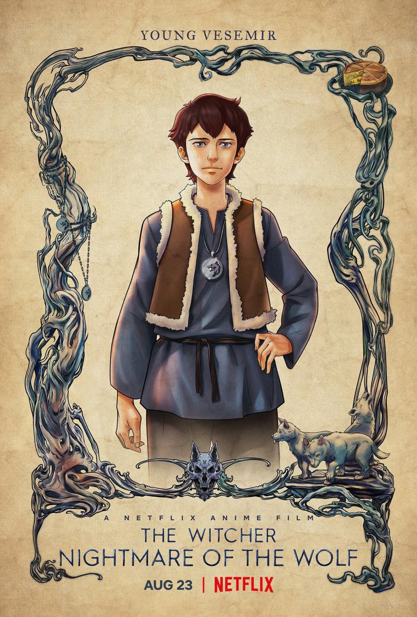 Юный Весемир и другие герои на новых постерах «Кошмара волка»1