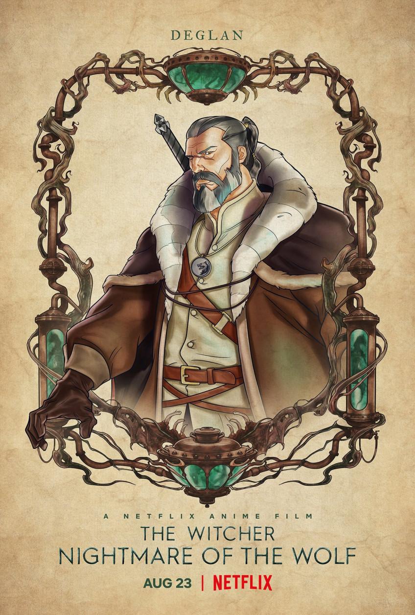 Юный Весемир и другие герои на новых постерах «Кошмара волка»3