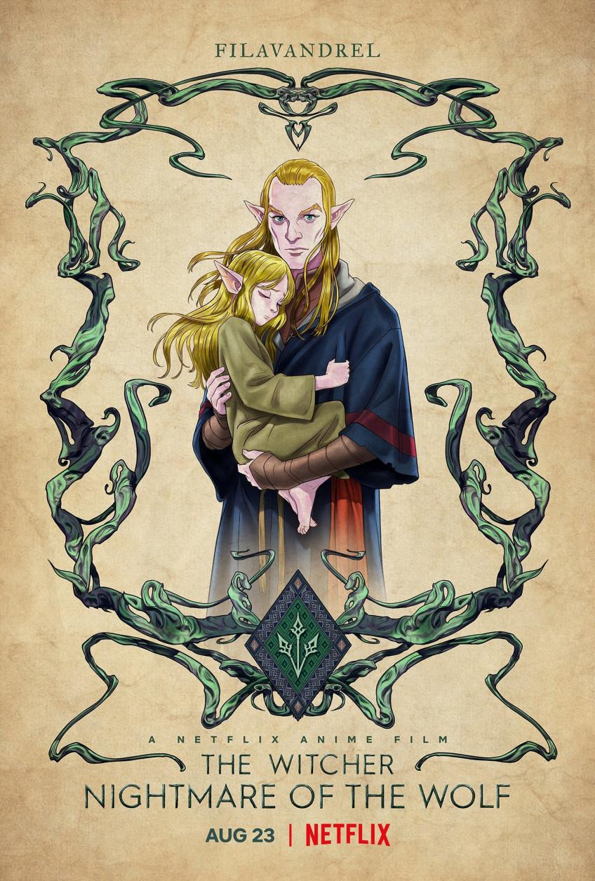 Юный Весемир и другие герои на новых постерах «Кошмара волка»6