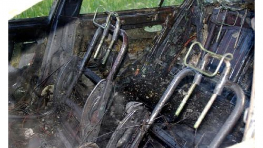 iPod спалил автомобиль?