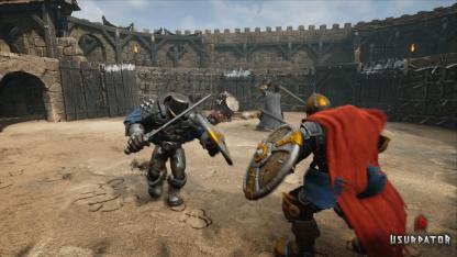 Средневековый слэшер Usurpator собираются вынести на Kickstarter