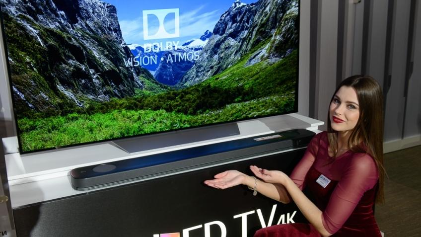 LG представила в России OLED-телевизоры и мониторы с разрешением 4К и 5К