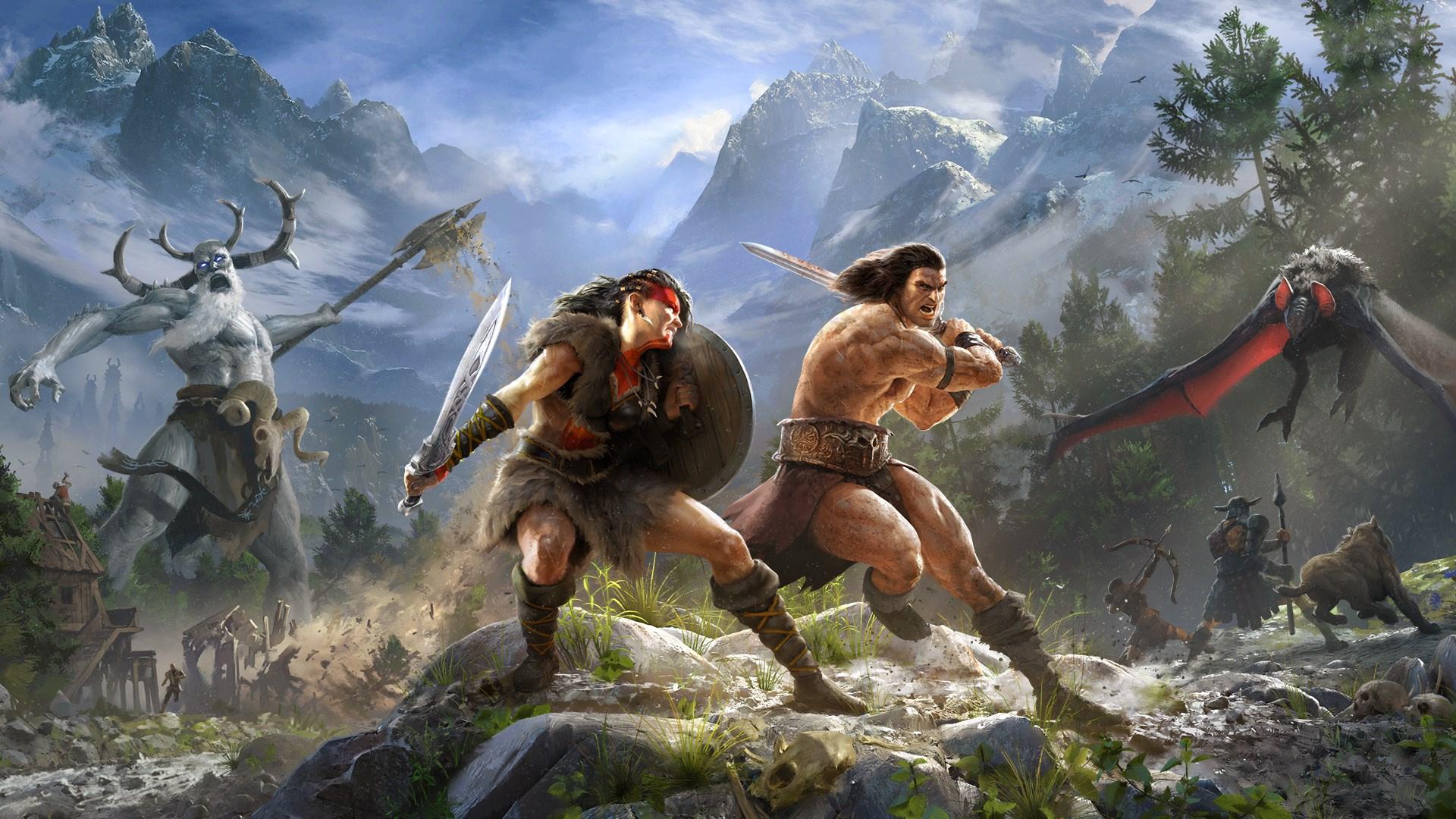 """Conan Exiles и Hue стали следующими бесплатными играми в Epic Games Store"""">"""