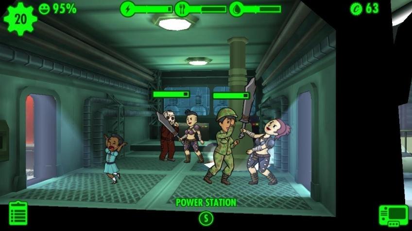 Fallout Shelter по показателю активности игроков превзошла другие части серии