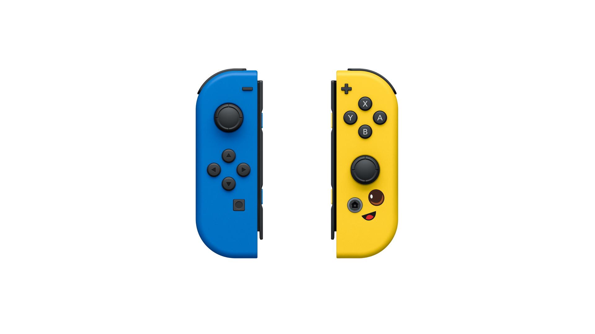 Nintendo представила набор контроллеров Joy-Con в стиле Fortnite