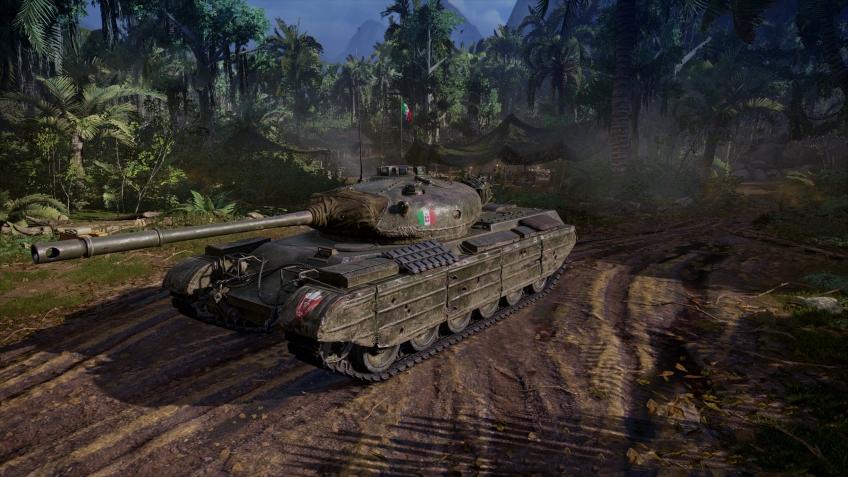 В «World of Tanks: Наёмники» появился первый итальянский танк
