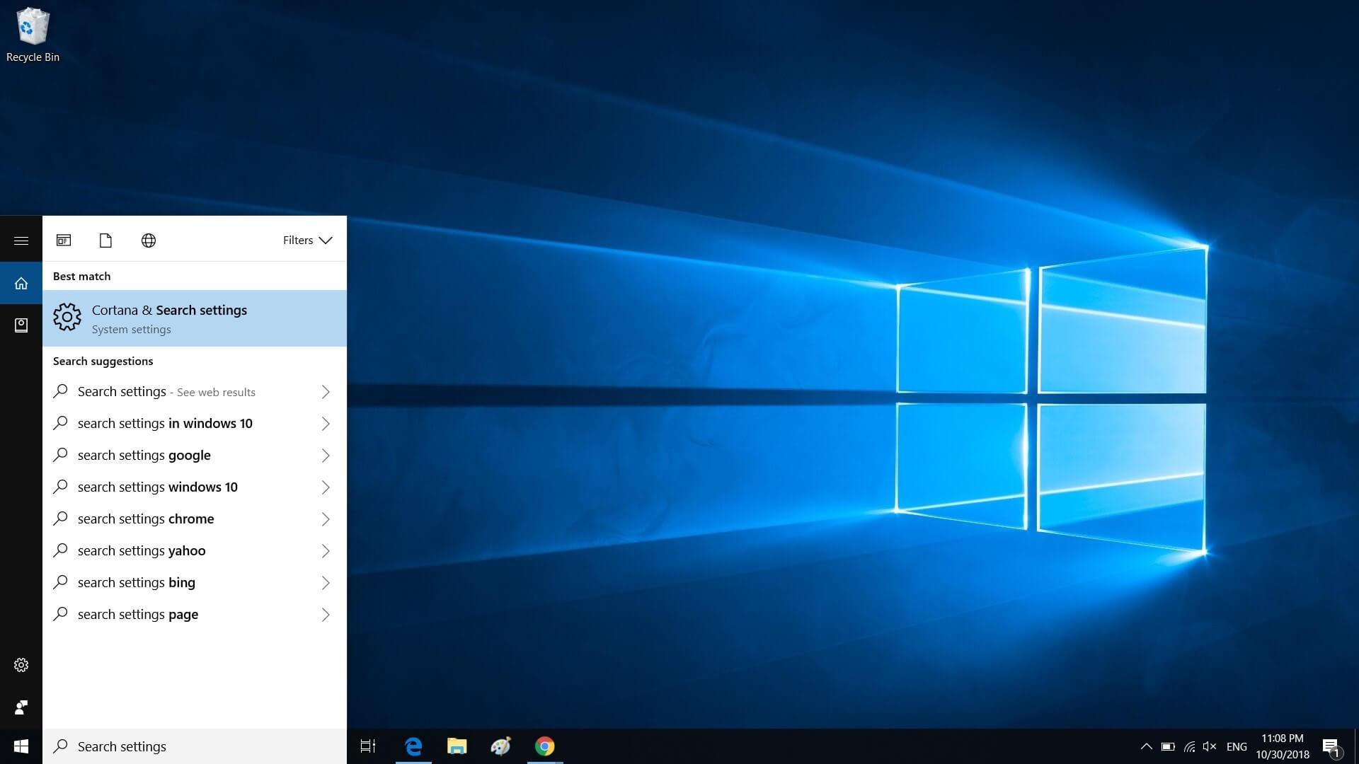 Microsoft использует поиск в Windows 10, чтобы рекламировать свои сервисы