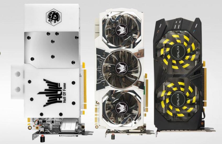 Galax готовит много видеокарт RTX 3080 и 3090