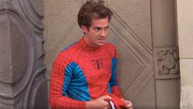 Эндрю Гарфилд не смог прямо опровергнуть слухи о возвращении к Человеку-пауку