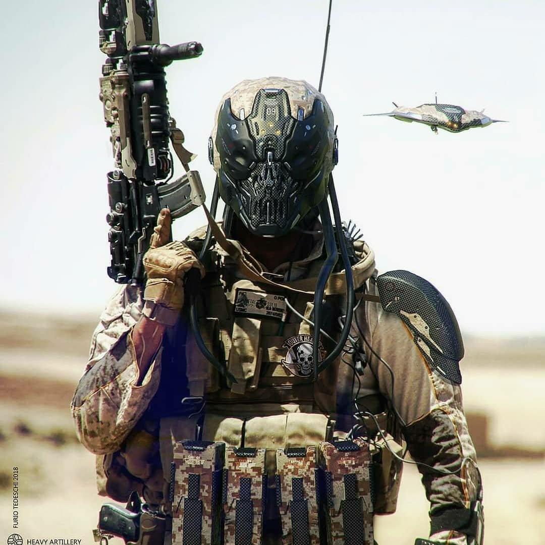 Художник Cyberpunk 2077 нарисовал несколько иллюстраций по Metal Gear