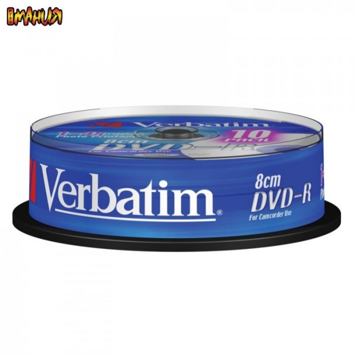 Mini DVD-R DL от Verbatim