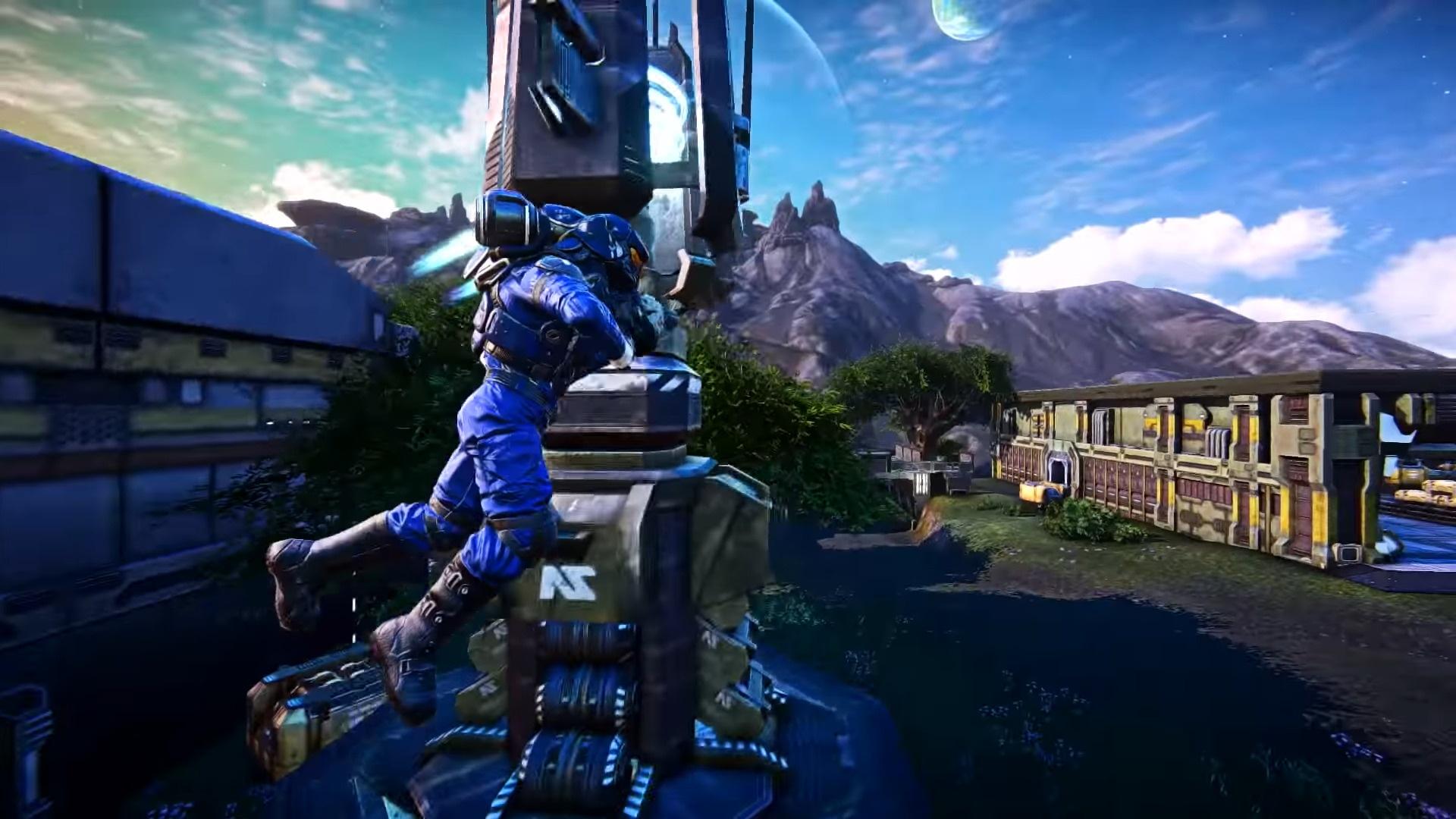 9 минут геймплея PlanetSide Arena: джетпаки, квадроциклы и танковые бои
