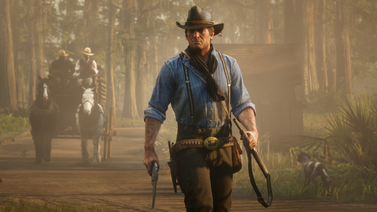 Red Dead Redemption2 стала лидером чартов PS Store в ноябре