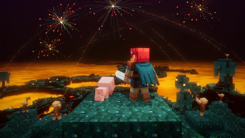 В Minecraft Dungeons играют уже более 10 миллионов человек