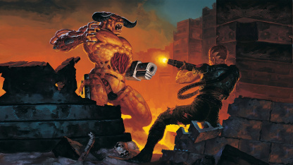 Doom2 превратили в трёхмерный битемап в духе Fighting Force