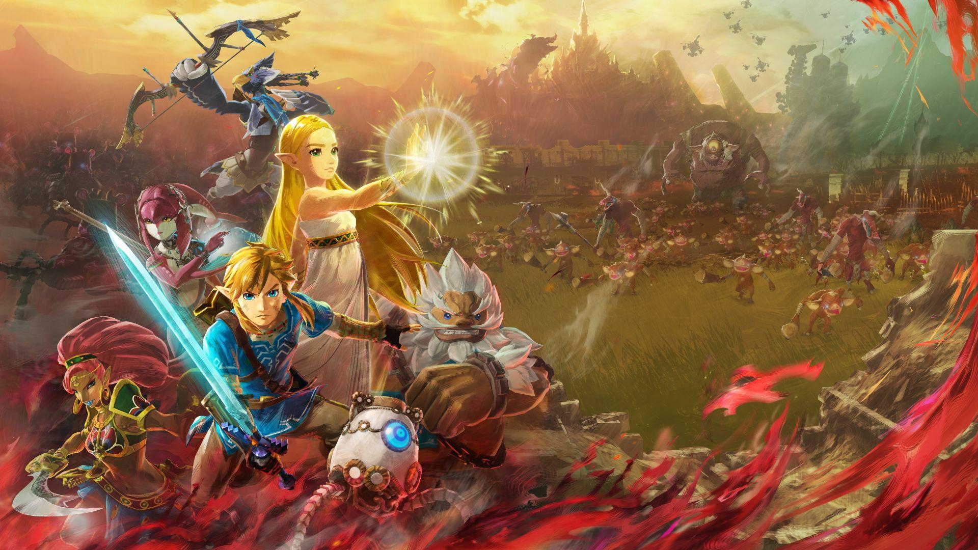 Nintendo представила релизный трейлер Hyrule Warriors: Age of Calamity