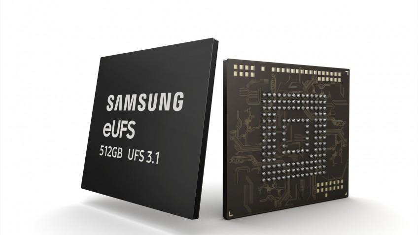 Началось производство памяти Samsung eUFS3.1