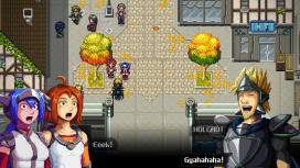 Пиксельный боевик CrossCode выпустили на консолях