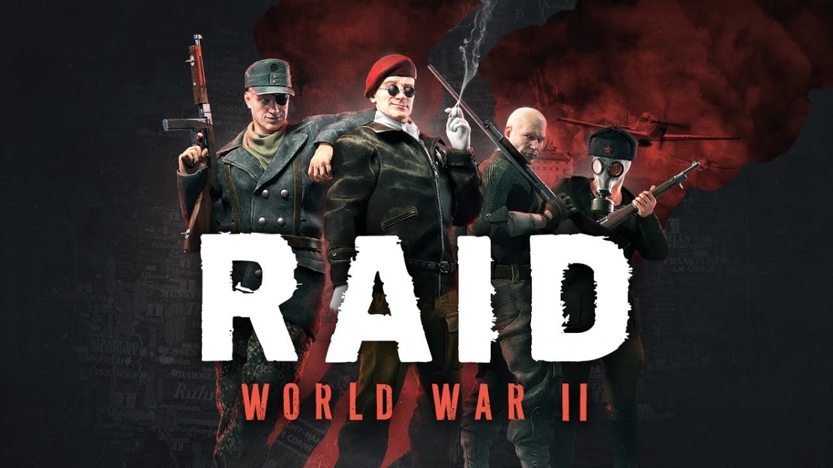 Кооперативный шутер RAID: World War II получил дату выхода