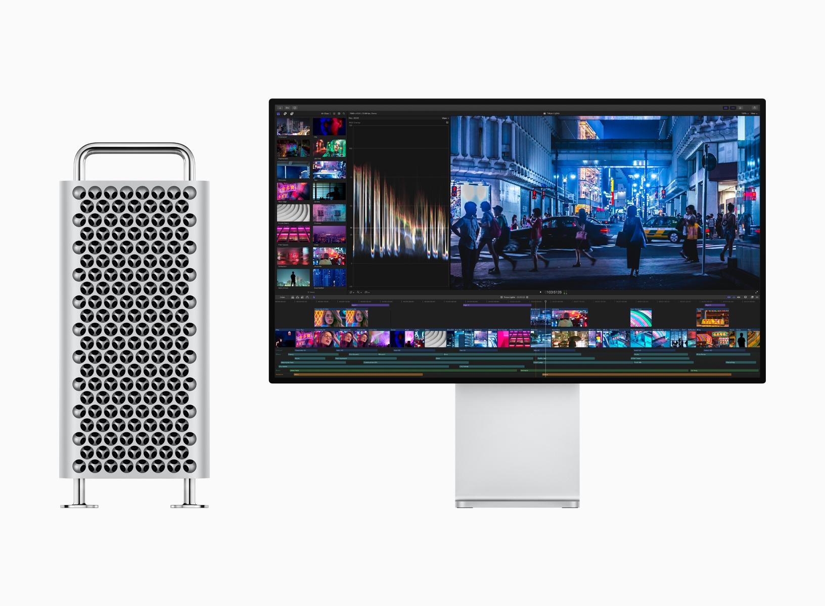 Представлены новый Apple Mac Pro и монитор Pro Display XDR