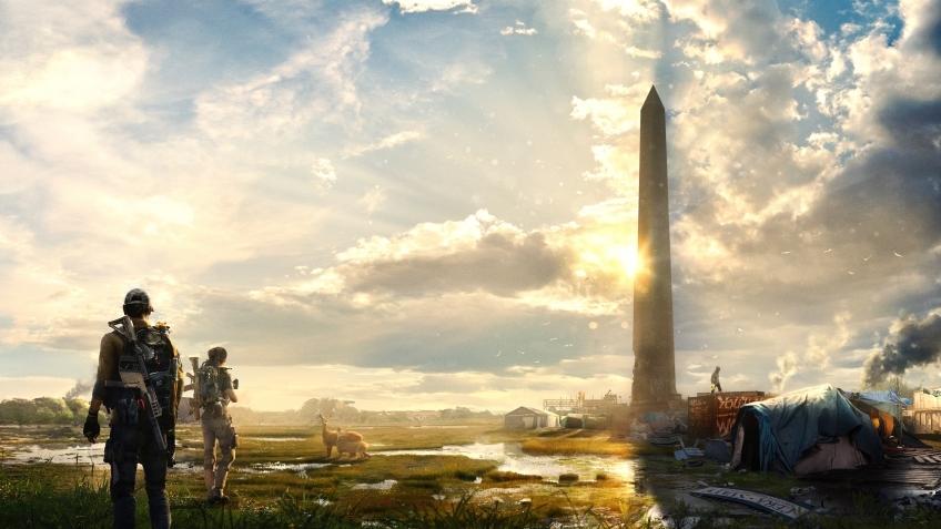 Ютубер сравнил Вашингтон из The Division2 с реальной столицей США