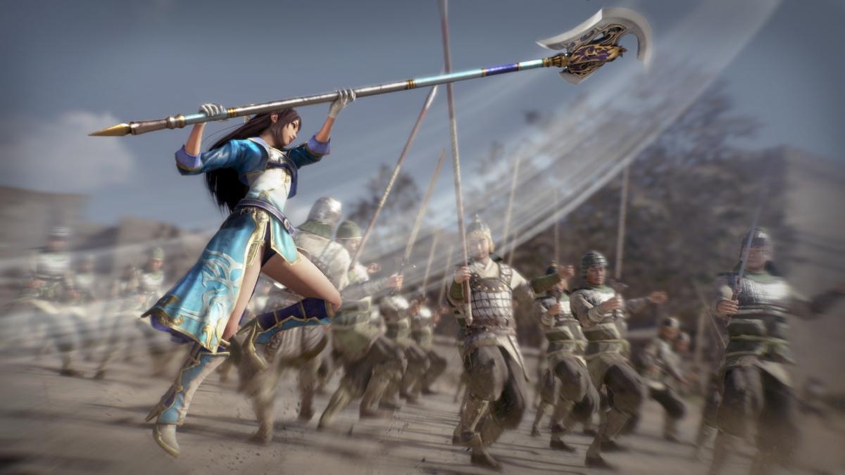Вышла бесплатная демоверсия Dynasty Warriors9
