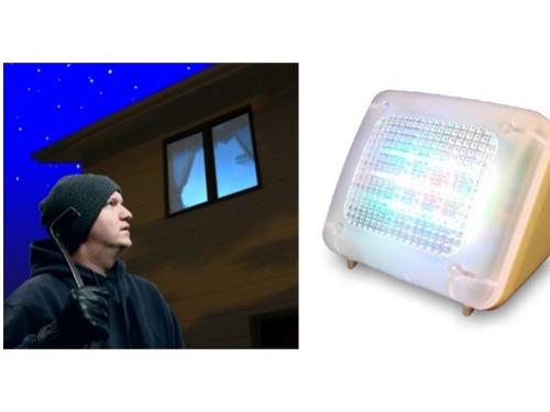 Лампа защитит дом от грабителей