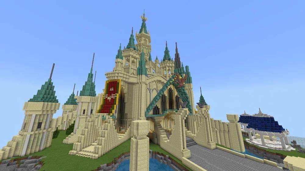 В Minecraft теперь можно купить замок Хайрул из Breath of the Wild