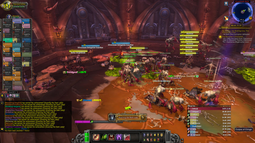 World of Warcraft заполонили чумные зомби: началась вторая неделя «Прихода смерти»