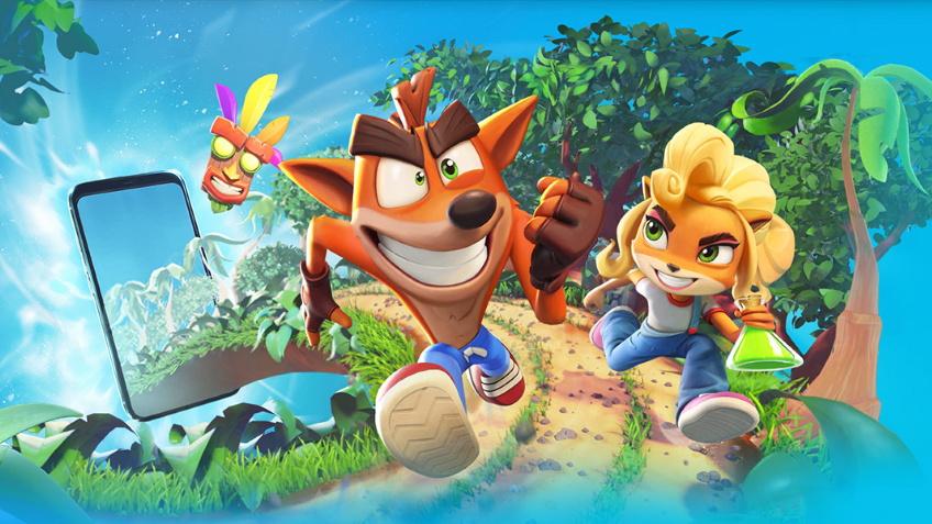 Crash Bandicoot: On the Run выйдет весной 2021 года