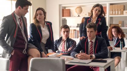 Netflix продлил испанскую драму «Элита» на пятый сезон