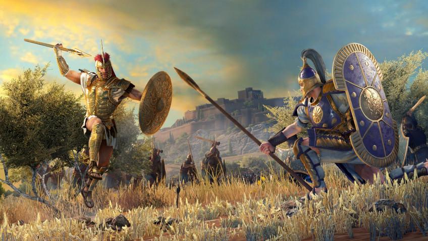 Авторы Total War Saga: Troy показали битву Ахиллеса и Гектора