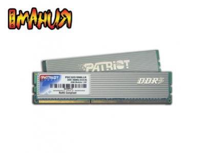Patriot выпустила самые быстрые модули DDR3