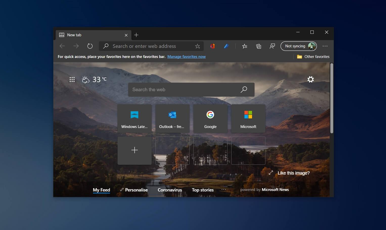 В Microsoft Edge тестируют новый способ перехода назад и вперёд на веб-страницах